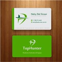 TopHunter, Logo e Identidade, Consultoria de Negócios
