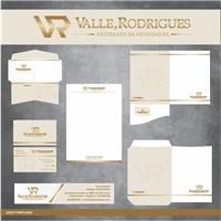 Valle, Rodrigues Sociedade de Advogados, Logo e Identidade, Advocacia e Direito