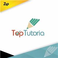 Top Tutoria, Logo e Identidade, Educação & Cursos