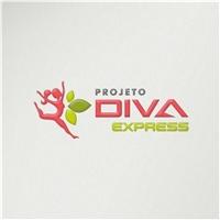 Projeto Diva Express, Logo e Identidade, Saúde & Nutrição