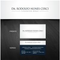 Cartao de visita para pacientes., Logo e Identidade, Saúde & Nutrição
