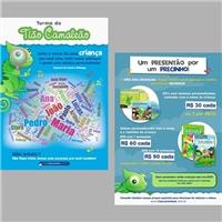 Tião Camaleão, Peças Gráficas e Publicidade, Crianças & Infantil