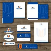 Universal Plastic Company, Logo e Identidade, Logística, Entrega & Armazenamento