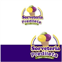 sorveteria predileta Self-service, Logo e Identidade, Alimentos & Bebidas