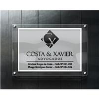 Costa & Xavier Advogados, Logo e Identidade, Advocacia e Direito