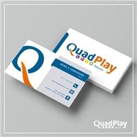 QuadPlay Telecom, Logo e Identidade, Tecnologia & Ciencias