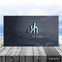 Singular Home Empreedimentos Imobiliários, Logo e Identidade, Construção & Engenharia