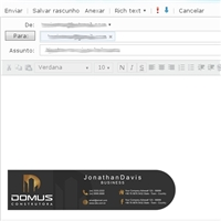 DOMUS CONSTRUTORA, Logo e Identidade, Construção & Engenharia