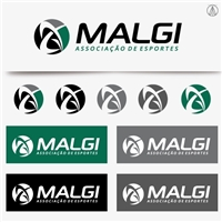 Associação MALGI de Esportes (AME), Logo e Identidade, Associações, ONGs ou Comunidades