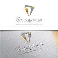 DRA. ANA LIGIA VILAR- ODONTOLOGIA ESTÉTICA E REABILITADORA, Logo e Identidade, Saúde & Nutrição