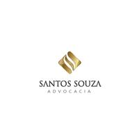 Santos Souza Advocacia, Logo e Identidade, Advocacia e Direito
