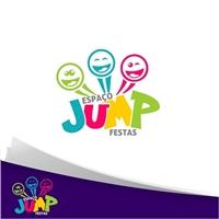 Espaço Jump Festas, Logo e Identidade, Crianças & Infantil