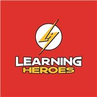 Learning Heroes, Logo e Identidade, Educação & Cursos