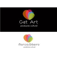GET ART PRODUTORA, Logo e Identidade, Artes, Música & Entretenimento
