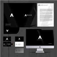 Alux Arquitetura e Iluminação, Logo e Identidade, Arquitetura