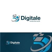 DIGITALE CONTABILIDADE ONLINE, Logo e Identidade, Contabilidade & Finanças