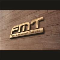 FMT - Fábrica de móveis Teixeira, Logo e Identidade, Decoração & Mobília