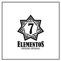 Cervejaria 7 elementos, Logo e Identidade, Alimentos & Bebidas