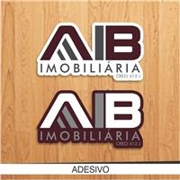 A I B IMOBILIÁRIA, Logo e Identidade, Imóveis