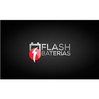 Flash  Baterias, Logo e Identidade, Automotivo