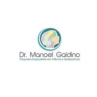 Dr. Manoel Galdino / Psiquiatra Especialista em Infância e Adolescência, Logo e Identidade, Saúde & Nutrição