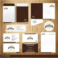 Empório Continental, Logo e Identidade, Alimentos & Bebidas