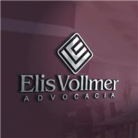 Elis Vollmer Advocacia, Logo e Identidade, Advocacia e Direito