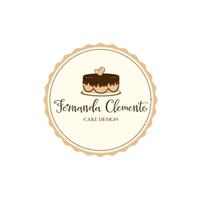 fernanda clemente cake design, Logo e Identidade, Alimentos & Bebidas
