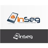 InSeg - Controle de Inspeção em Segurança, Logo e Identidade, Tecnologia & Ciencias