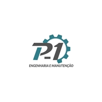 P-1 engenharia e manutenção, Logo e Identidade, Construção & Engenharia