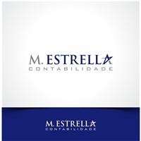 M. ESTRELLA CONTABILIDADE, Logo e Identidade, Contabilidade & Finanças