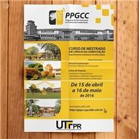 UTFPR/PPGCC, Peças Gráficas e Publicidade, Educação & Cursos