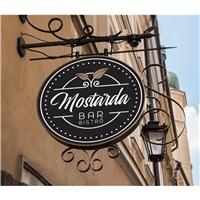 Mostarda Bar Bistrô, Logo e Identidade, Alimentos & Bebidas