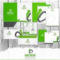 GECKOS turismo de aventura e alpinismo industrial, Logo e Identidade, Viagens & Lazer
