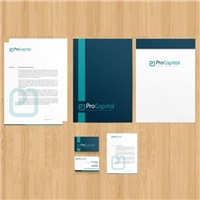 Pro Capital Consultoria e Corretagem de Seguros, Logo e Identidade, Contabilidade & Finanças