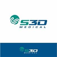 S3D COMERCIO DE PRODUTOS MÉDICOS E HOSPITALARES, Logo e Identidade, Saúde & Nutrição