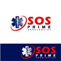 SOS PRIME Ambulâncias, Logo e Identidade, Saúde & Nutrição