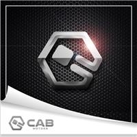 CAB - COMPANHIA AUTOMOBILÍSTICA BRASILEIRA, Logo e Identidade, Automotivo