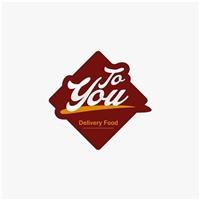 TO YOU - Delivery Food, Logo e Identidade, Alimentos & Bebidas