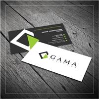 Gama Serviços, Logo e Identidade, Construção & Engenharia