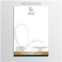 Clinica AZZI, Logo e Identidade, Saúde & Nutrição