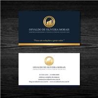 Osvaldo de Oliveira Morais - ME, Logo e Identidade, Consultoria de Negócios