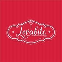 lovabite, Logo e Identidade, Alimentos & Bebidas