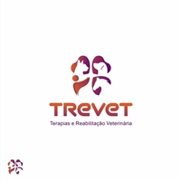 TREVET - Terapias e Reabilitação Veterinária, Logo e Identidade, Animais