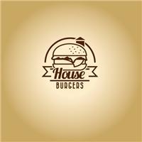 House Burgers, Logo e Identidade, Alimentos & Bebidas