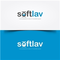 Softlav- Lavanderia multisserviços , Logo e Identidade, Limpeza & Serviço para o lar