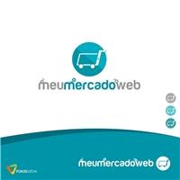 MeuMercadoWEB, Logo e Identidade, Tecnologia & Ciencias