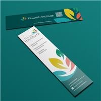 Flourish Institute, Logo e Identidade, Educação & Cursos