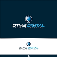 DTM3 DIGITAL TRADE MARKETING , Logo e Identidade, Marketing & Comunicação