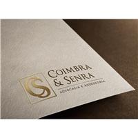 COIMBRA & SENRA ADVOCACIA E ASSESSORIA, Logo e Identidade, Advocacia e Direito